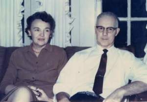 Grandma (48) and Grandpa (52) in 1970. They were married for 59 years.