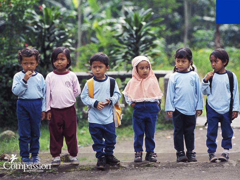 Children in Indonesia